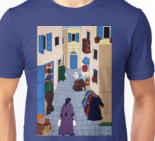 Moroccan Street Scene Unisex T-Shirt