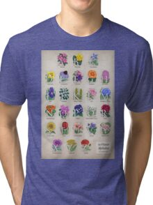 The Floral Alphabet Tri-blend T-Shirt