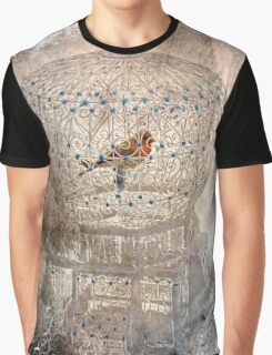 Bird in a gilded cage Graphic T-Shirt