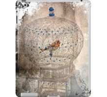 Bird in a gilded cage iPad Case/Skin