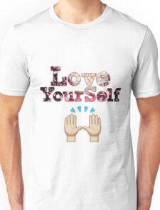 Love Yourself Written.   XxDen GraphicxX   Unisex T-Shirt