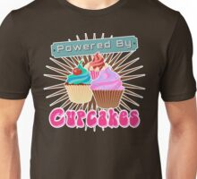 Powered by Cupcakes Unisex T-Shirt