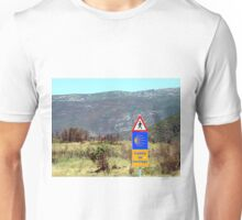 El camino de Santiago sign, Spain Unisex T-Shirt