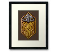 Dwarven Sigil Framed Print