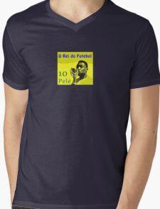 O rei do futebol Mens V-Neck T-Shirt