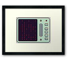 Binary love Framed Print