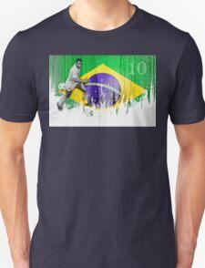 O rei do futebol brasil Unisex T-Shirt