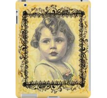 LITTLE GIRL WITH A CURL iPad Case/Skin