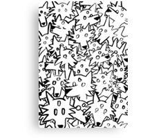 three eyed wolfpack Canvas Print