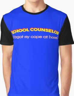 Super School Counselor Graphic T-Shirt