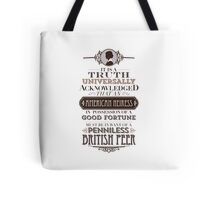 The Loaded American Heiress Tote Bag