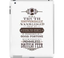The Loaded American Heiress iPad Case/Skin
