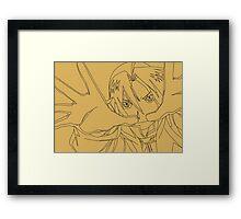 Fullmetal Alchemist Edward Elric Framed Print