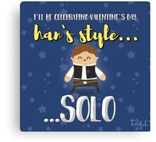 Han solo lover Canvas Print