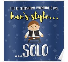 Han solo lover Poster