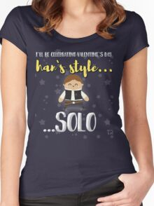 Han solo lover Women's Fitted Scoop T-Shirt