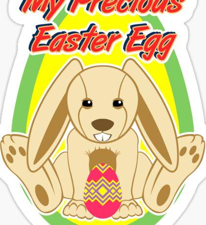 My precious easter egg Sticker