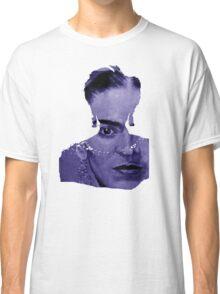 FRIDA Kahlo - between worlds - blue Classic T-Shirt