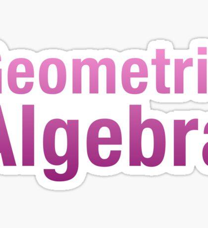 Geometric Algebra Sticker