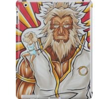 Demon Slayer and The Personification of Perception, watching you    iPad Case/Skin