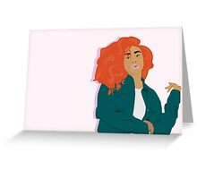 SZA Greeting Card