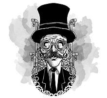 Steampunk Man Photographic Print