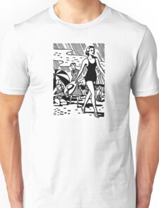 Retro Summer Beach Unisex T-Shirt