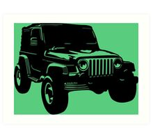 Jeep 2 Art Print
