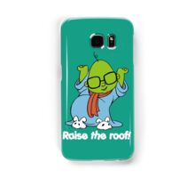 Muppet Babies - Bunsen - Raise The Roof - White Font Samsung Galaxy Case/Skin