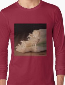 Onions Still Life Painting #1 Long Sleeve T-Shirt