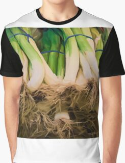 Onions Still Life Painting #2 Graphic T-Shirt