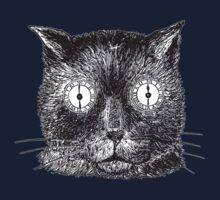 Vintage Clockwork Cat Kids Tee