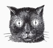 Vintage Clockwork Cat Baby Tee
