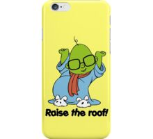Muppet Babies - Bunsen - Raise The Roof - Black Font iPhone Case/Skin