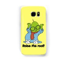 Muppet Babies - Bunsen - Raise The Roof - Black Font Samsung Galaxy Case/Skin