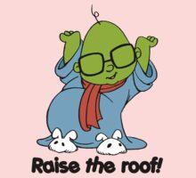 Muppet Babies - Bunsen - Raise The Roof - Black Font One Piece - Long Sleeve