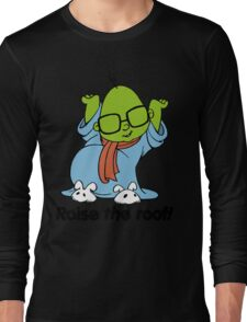 Muppet Babies - Bunsen - Raise The Roof - Black Font Long Sleeve T-Shirt