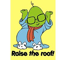 Muppet Babies - Bunsen - Raise The Roof - Black Font Photographic Print