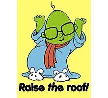Muppet Babies - Bunsen - Raise The Roof - Black Font Photographic Print