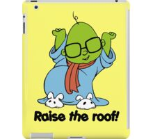 Muppet Babies - Bunsen - Raise The Roof - Black Font iPad Case/Skin