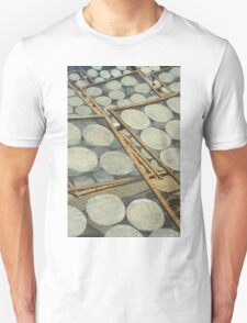 Rice papers drying in the sun, Vietnam Unisex T-Shirt