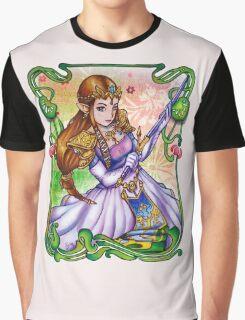 Zelda from The Legend of Zelda Graphic T-Shirt