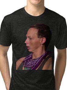 BACK ROLLS?! Tri-blend T-Shirt