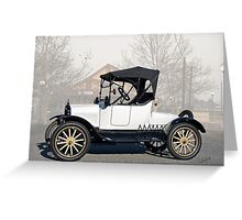 1920 Ford Model T Runabout Greeting Card