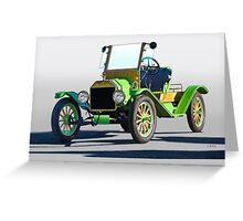 1914 Ford Model T Speedster Greeting Card