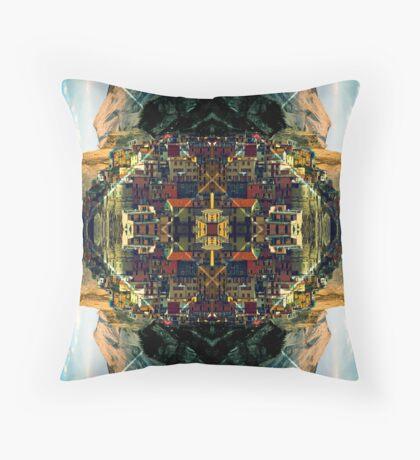 Cubism Dream Throw Pillow