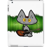 Rock and Roll Cat iPad Case/Skin