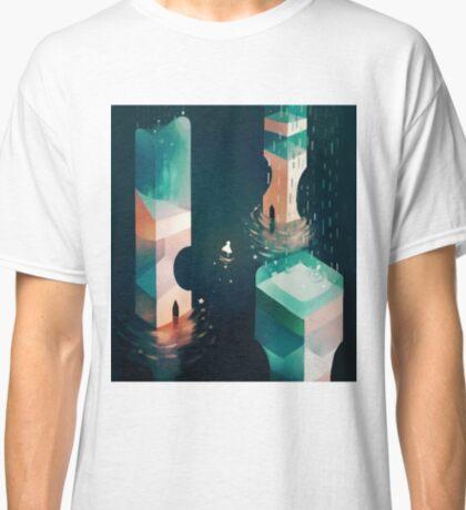tower above, stars below. Classic T-Shirt