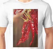 Red hot Spanish chili peppers Unisex T-Shirt