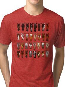 Horses Tri-blend T-Shirt